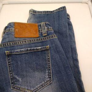 Vigoss The Ritz Boyfriend Capri Jeans 29 Waist